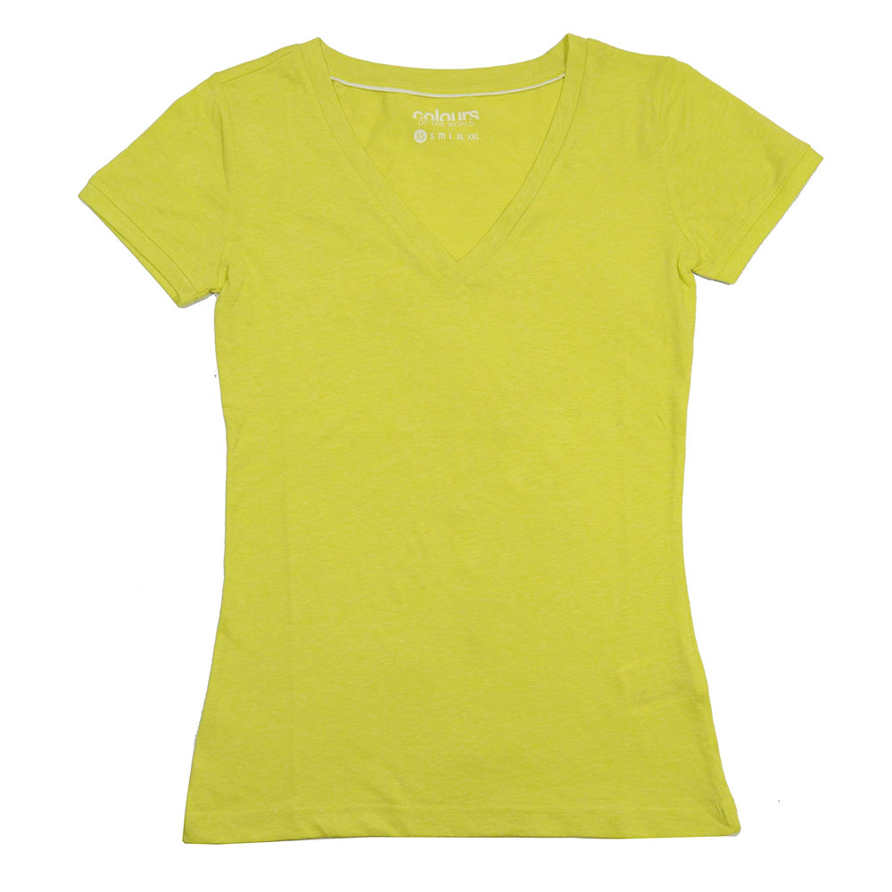 T-shirt 'Colours of the world' pour femme - Taille M