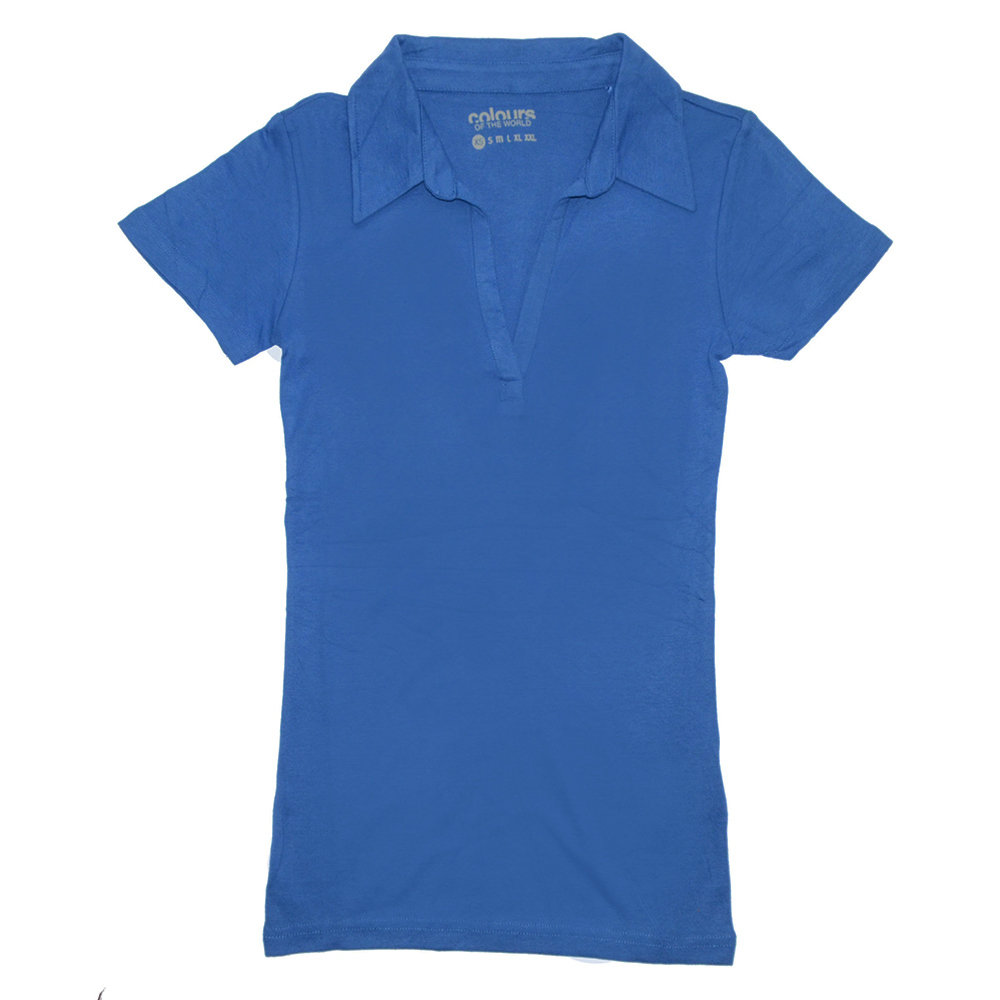 T-shirt 'Colours of the world' pour femme - Taille XS