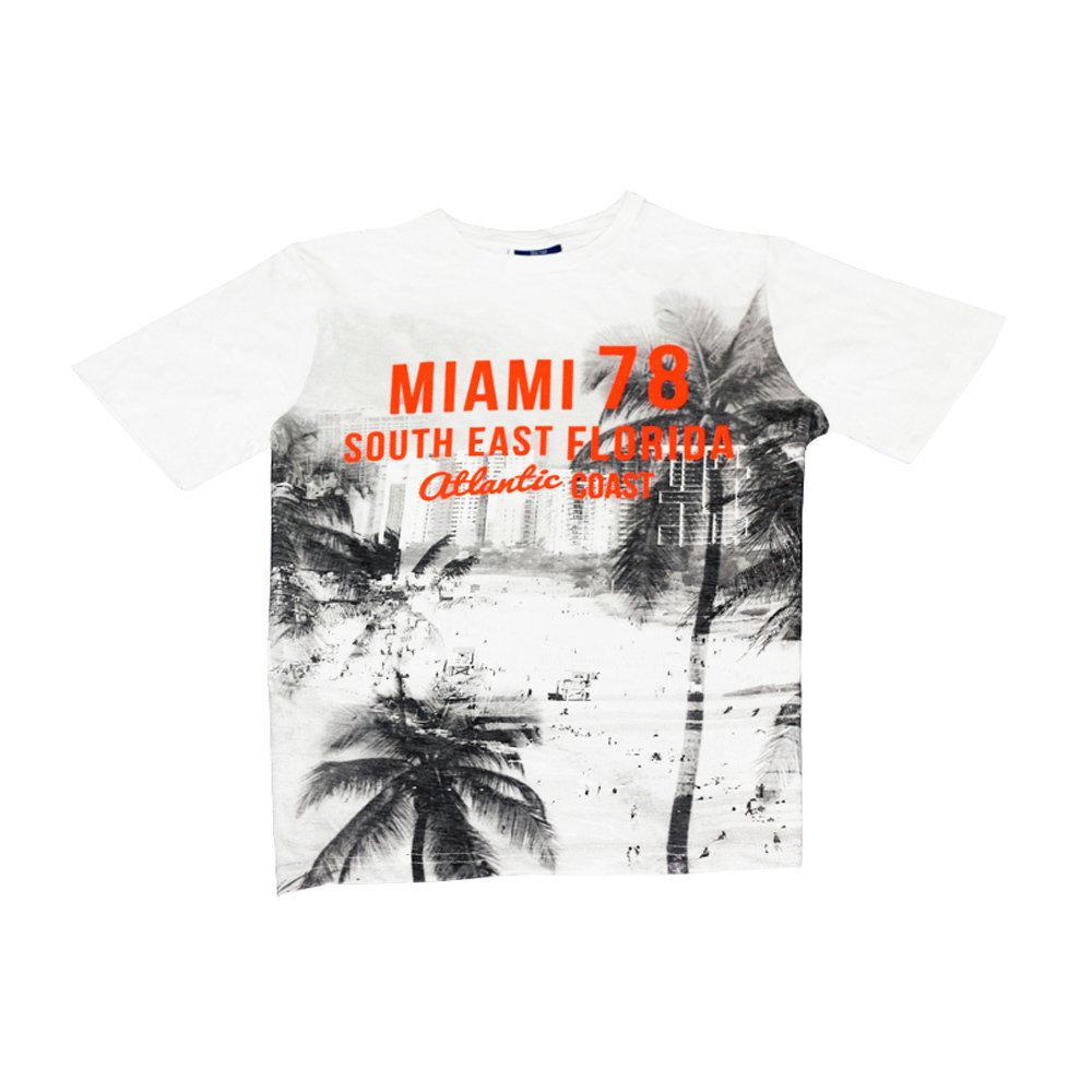 T-shirt 'Miami' pour garçon 'YIGGA'- Taille 13-14 ans