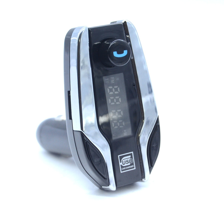 X7 kit mains libres Bluetooth pour voiture multifonction - Silver