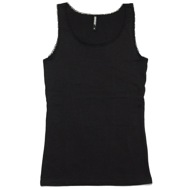 Débardeur '1982' pour femme - Noire- Taille XL