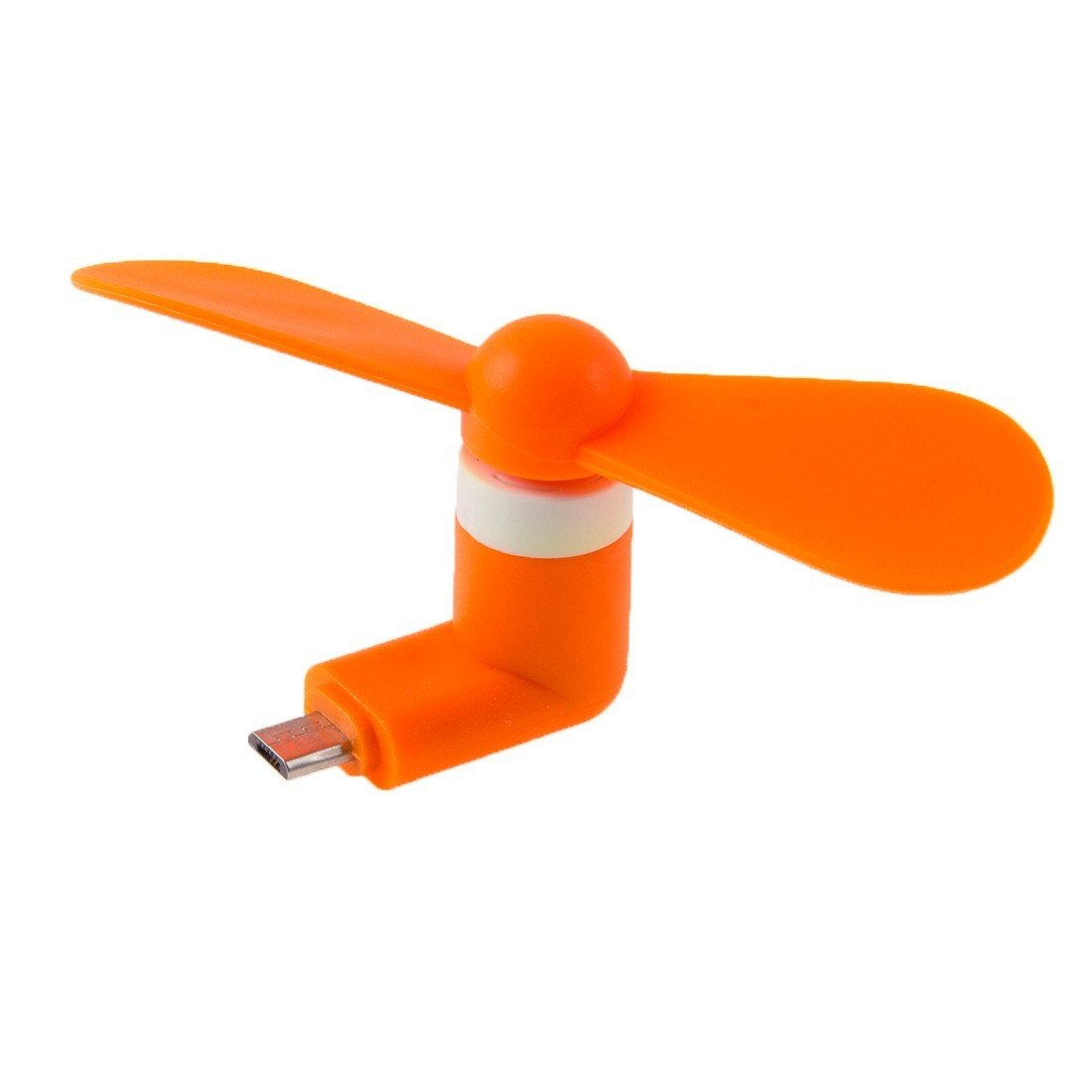 Mini ventilateur USB mobile - Orange