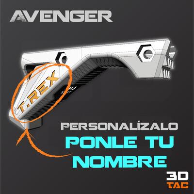 Agarradera Angular - AVENGER MK.VIII