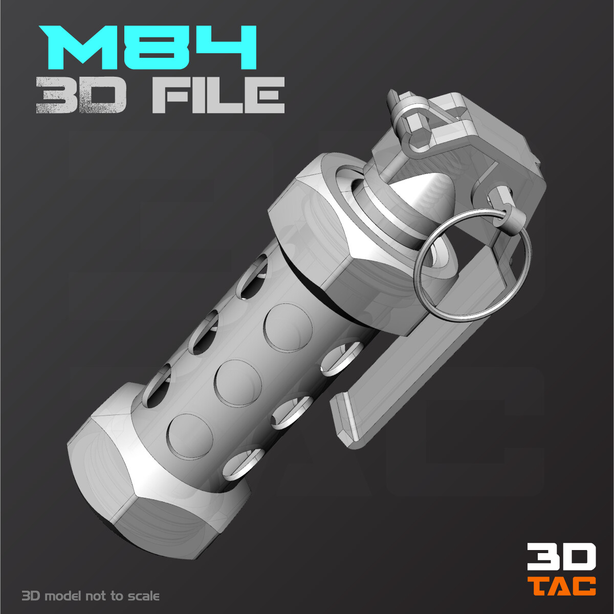 M84 Flashbang Dummy / Archivo 3D