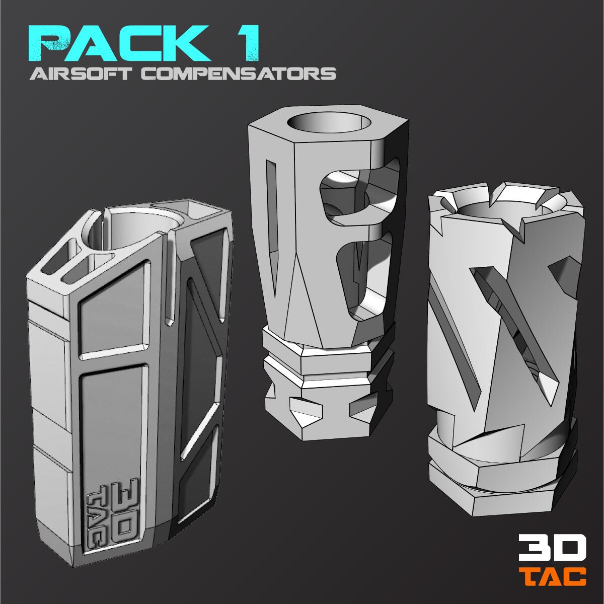 Paquete Compensadores 1 / Archivos 3D