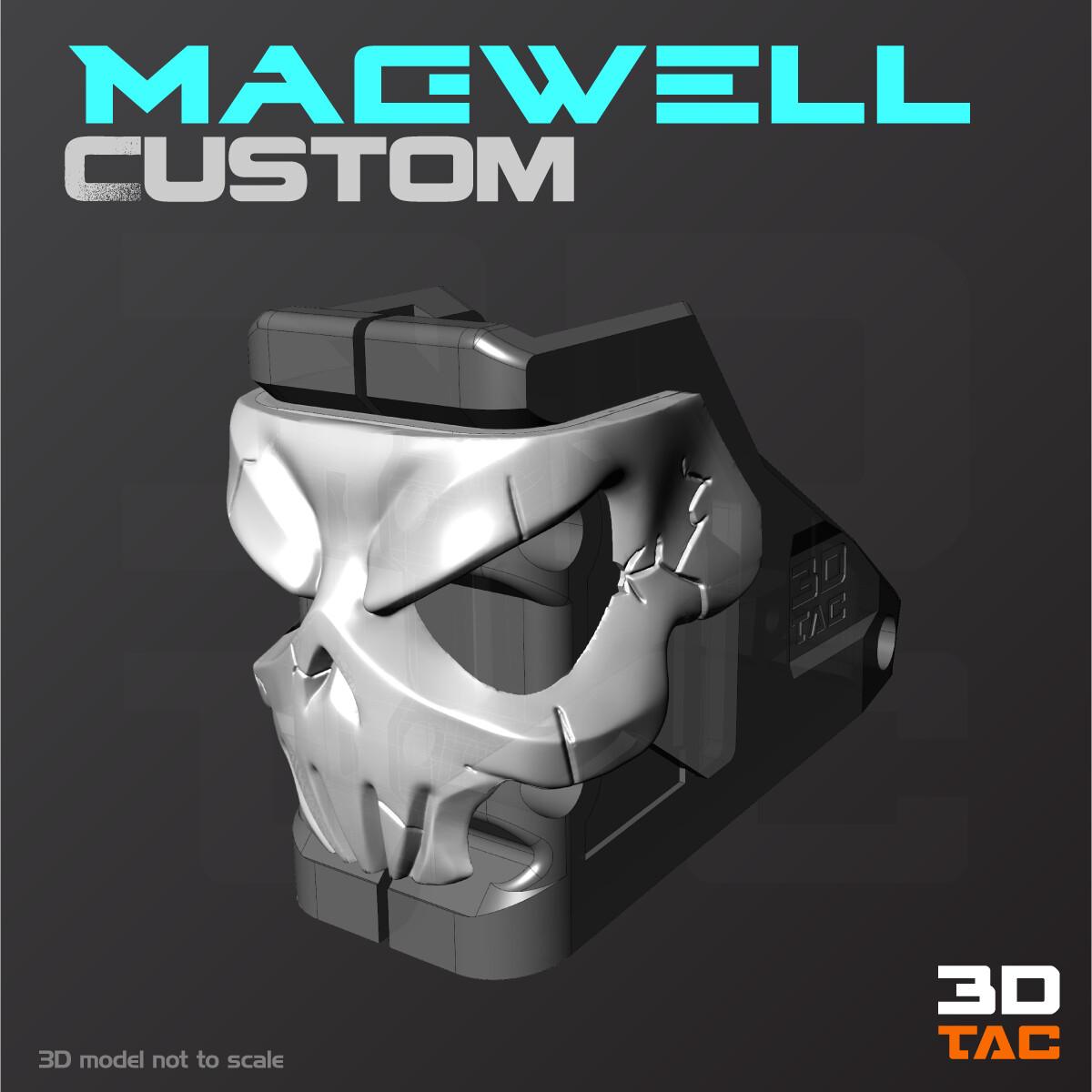 Magwell para AR15 - Archivo 3D