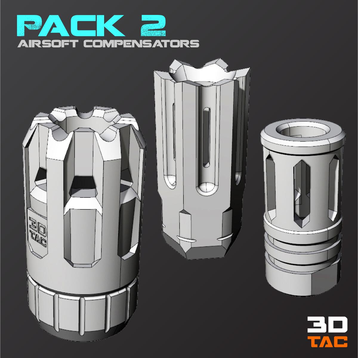 Paquete Compensadores 2 / Archivos 3D Files