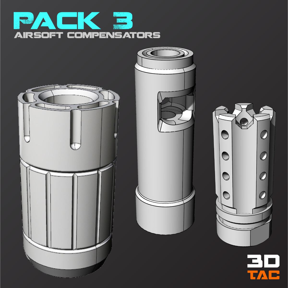Paquete Compensadores 3 / Archivos 3D