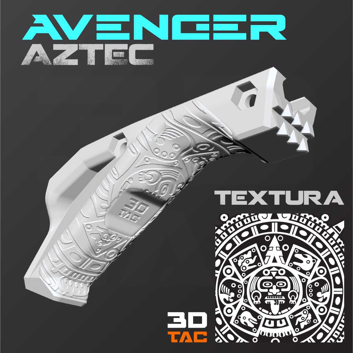 Agarradera Angular - AVENGER MK.X