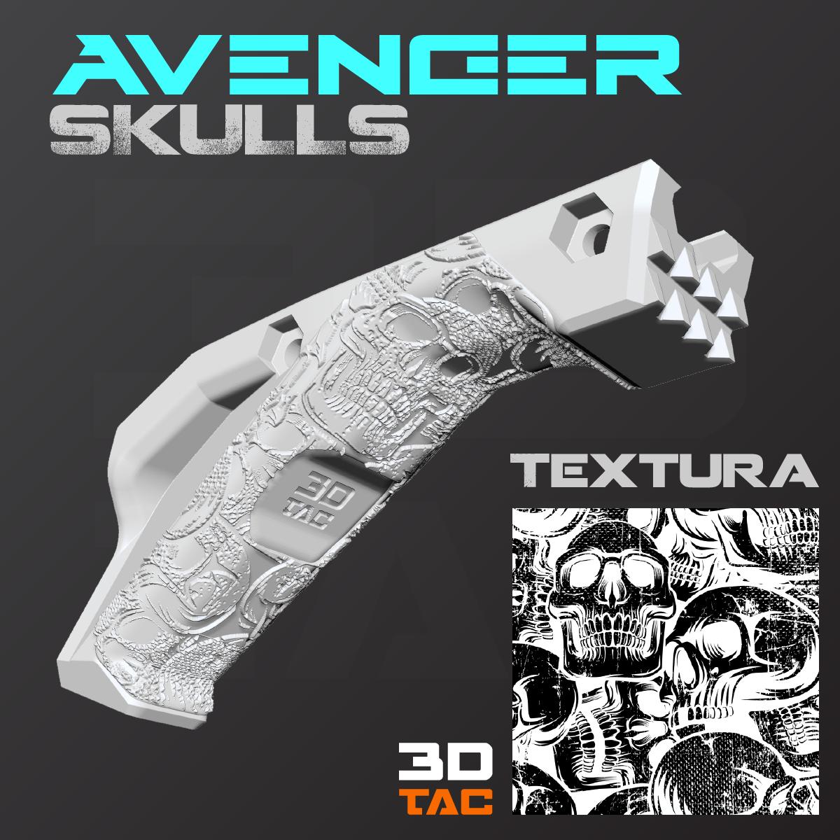 Skulls / AVENGER MK.X - Achivo 3D File