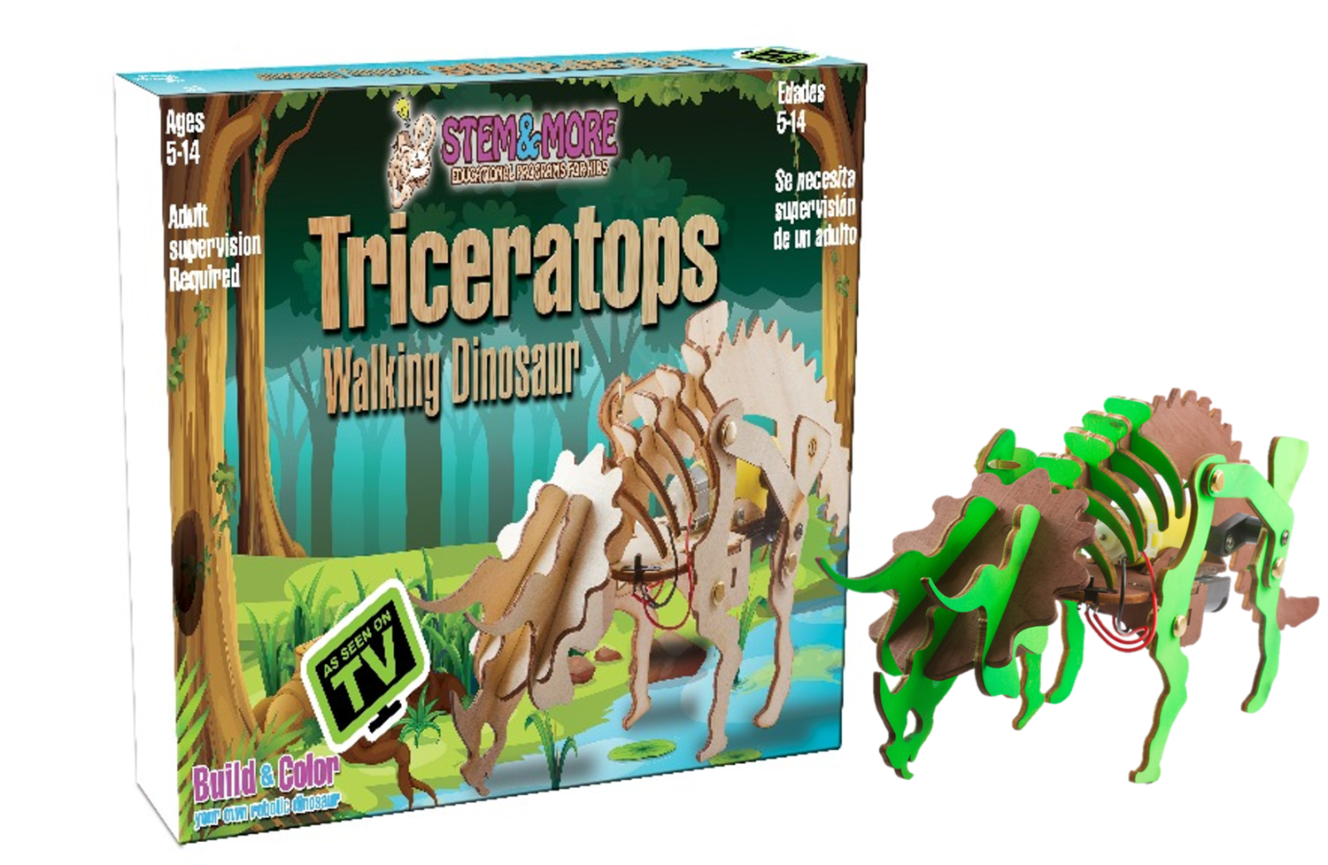 Triceratops- The Walking Dinosaur LEVEL 1