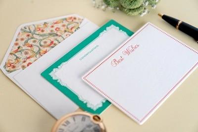 Sentiments - Letterpress Notecards