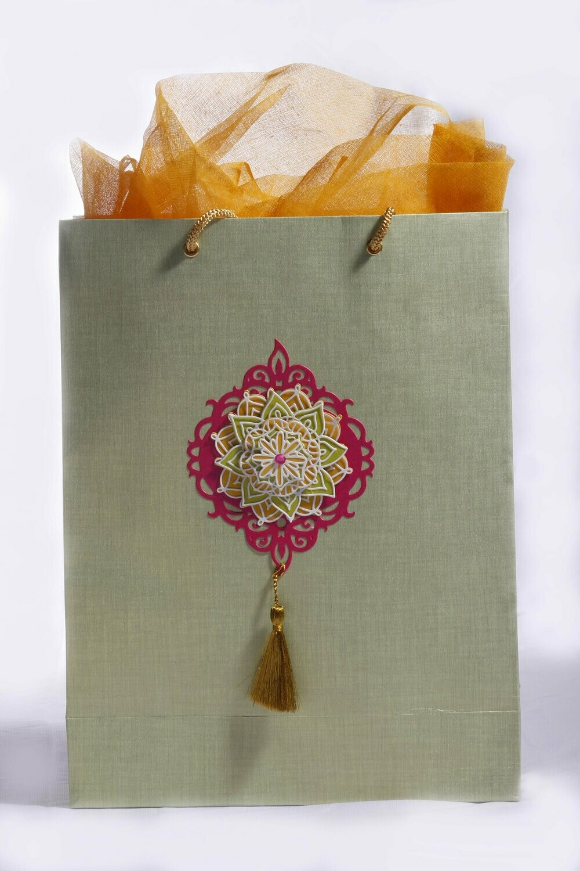 Festive Motif - Gift Bag (3-D)