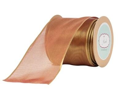 Golden Brown -Lurex Ribbon