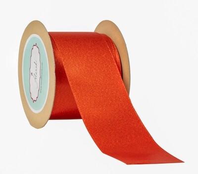 Glitter Satin - Red