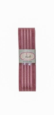 Dirty Rose Sheer - 4 satin stripes