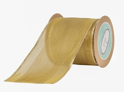 Dull Gold  Lurex Ribbon