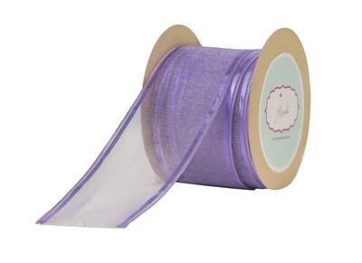 Lavender Sheer Ribbon