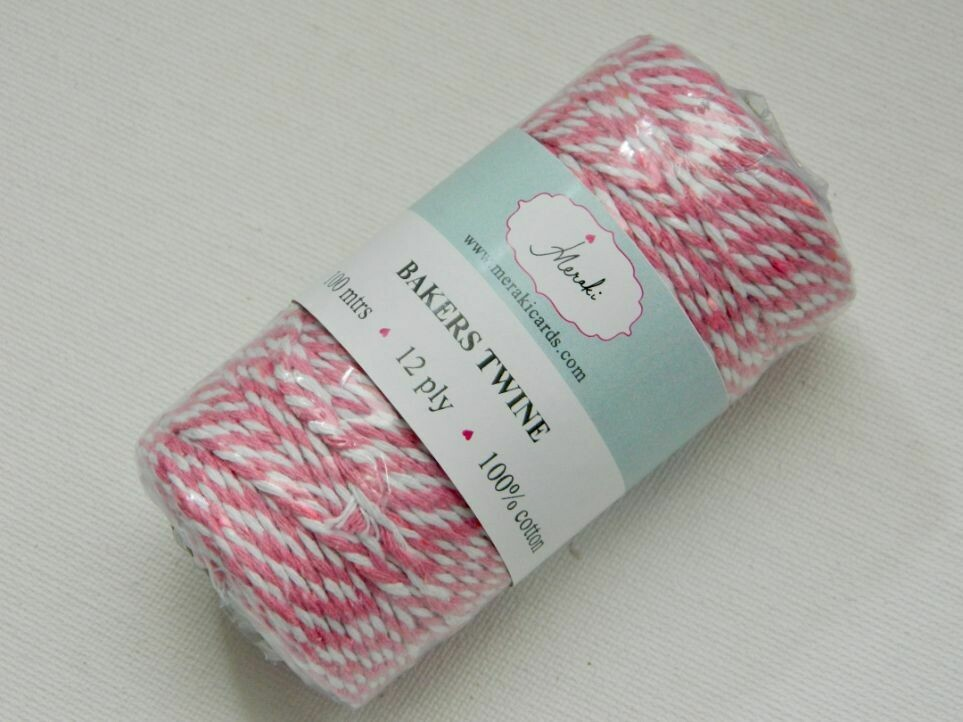 Bakers Twine- Pale Pink