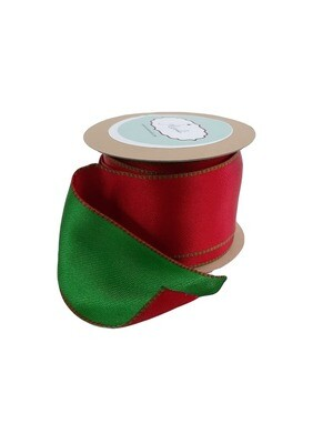 Red & Green Reversible