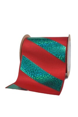 Red & Green hologram Stripes