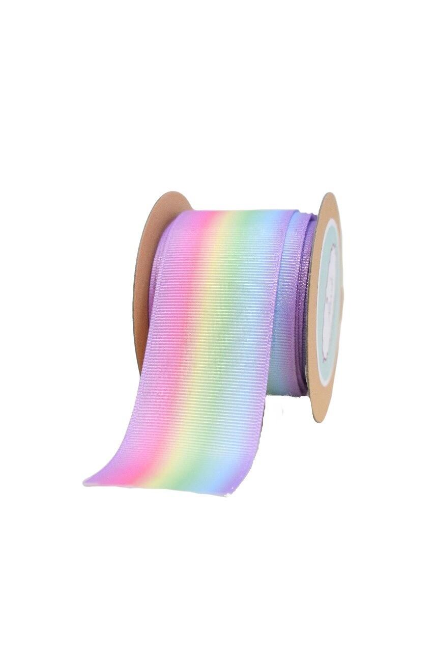 Pastel rainbow Ribbon