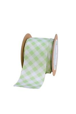 Lime Green(light) Gingham Checks