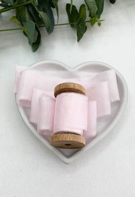 Heavenly Pink - Silk Ribbon