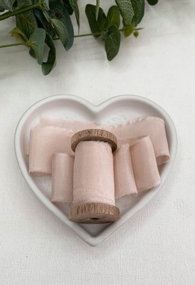 Mauve Pink - Silk Ribbon