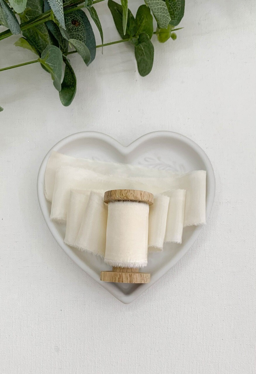 Gardenia - Silk Ribbon
