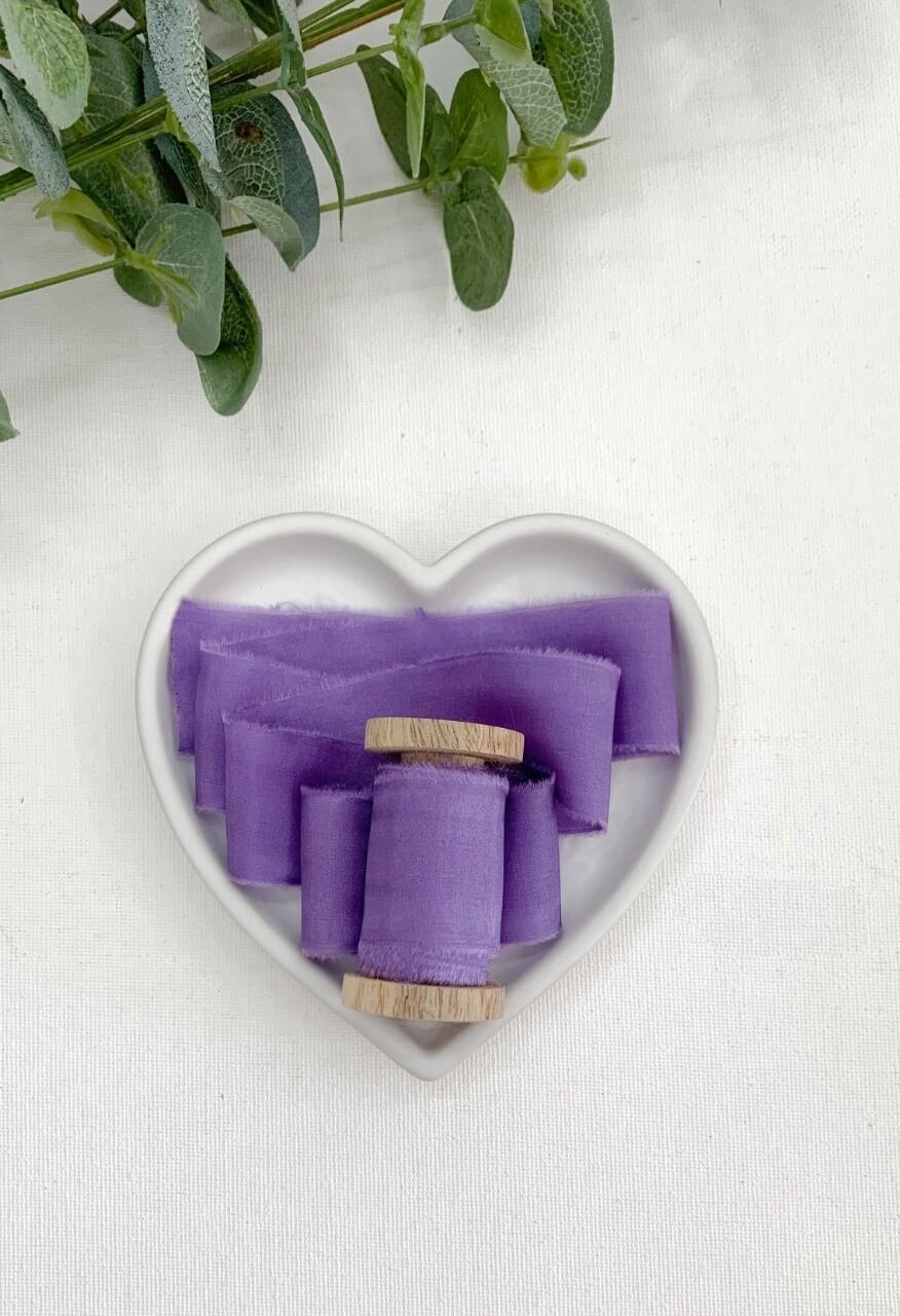 English Lavender - Silk Ribbon