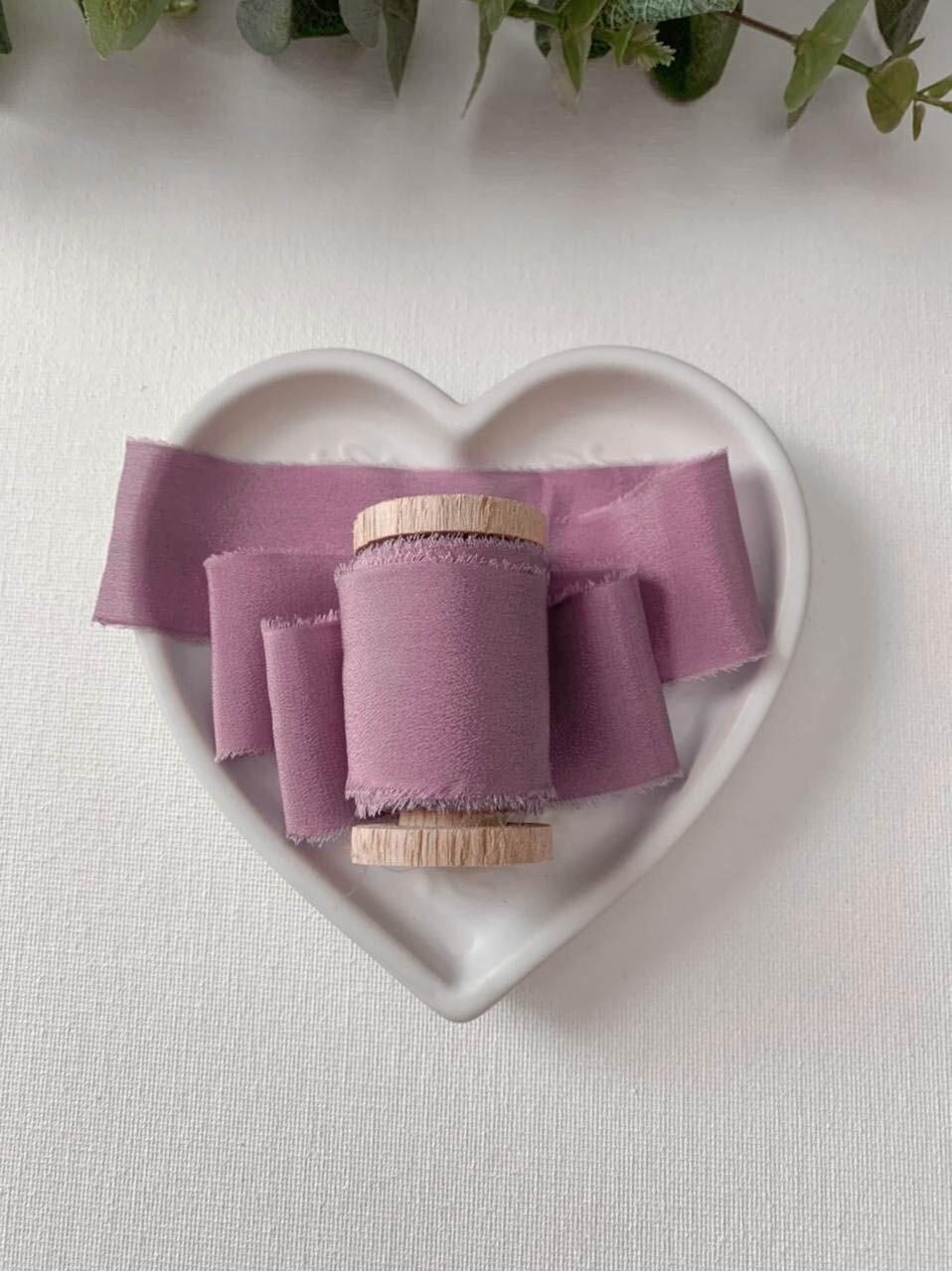 Orchid Haze - Silk Ribbon