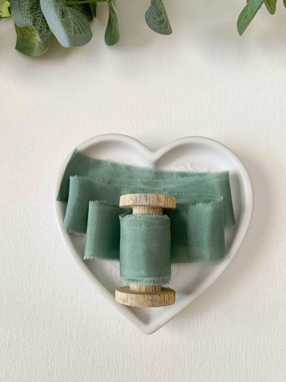 Loden Frost - Silk Ribbon