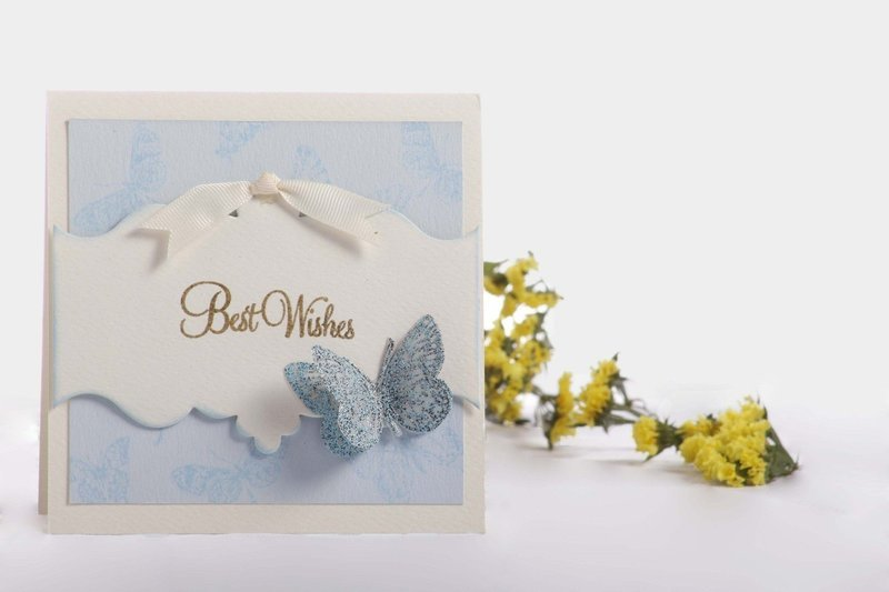 Best Wishes- Butterfly