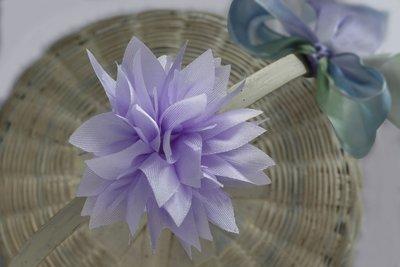 Lavender- Lotus Ready Bow