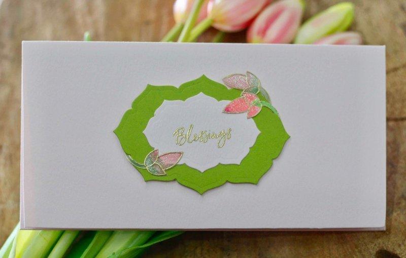 Pink Lotus Envelope