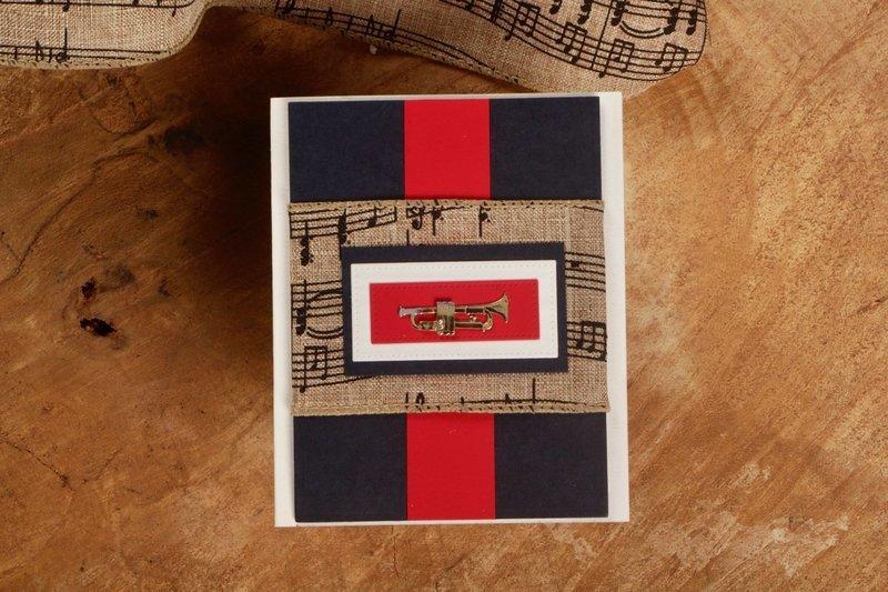 Trumpet Card