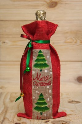 Christmas Tree- Wine bag