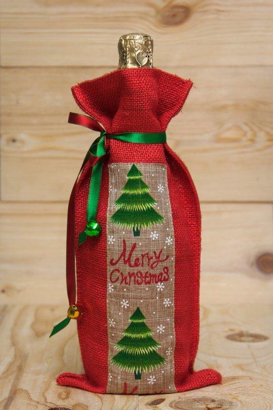 Christmas Tree- Wine bag