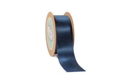Navy Blue  Satin Ribbon