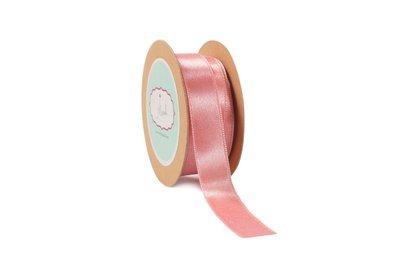 Rose Pink Satin Ribbon