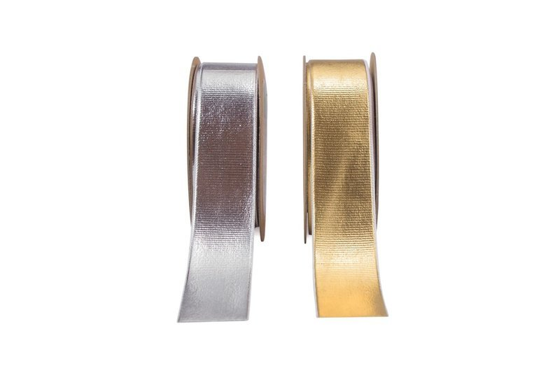 Gold & Silver Foiled ribbons