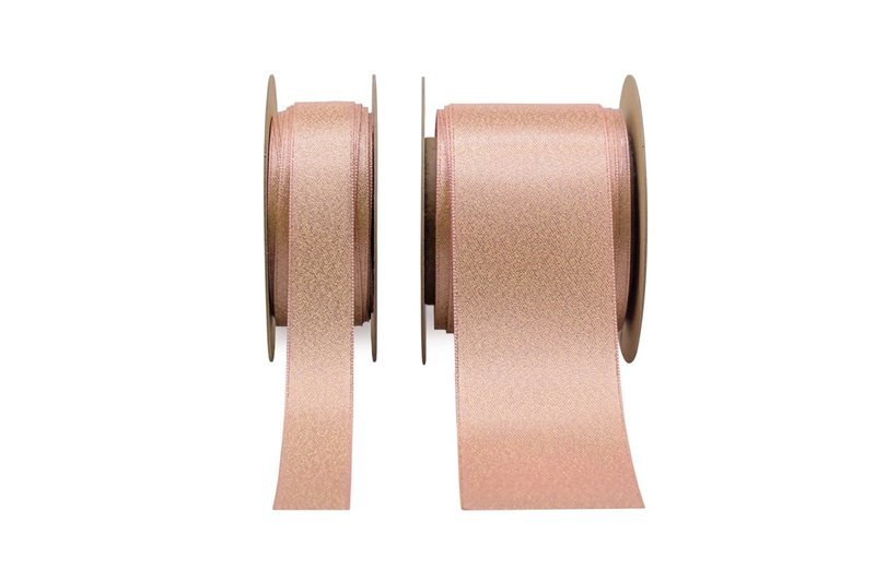 Glitter Satin - Rose Pink