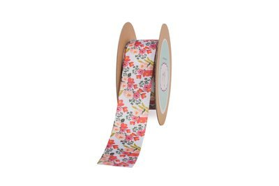 Floral Printed Ribbon