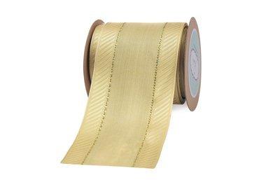 Light Gold Ribbon- Twilled Edges