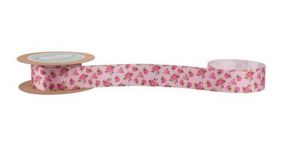 Vintage Rose Printed Ribbon