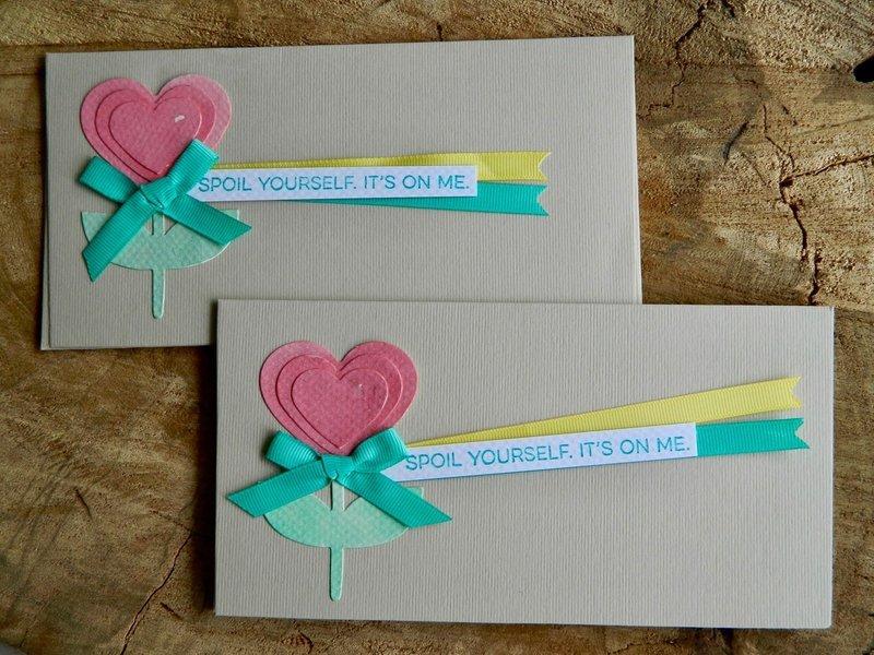 Heart Garden Envelope