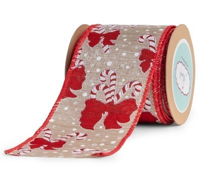 Candy Canes-Cristmas Ribbon