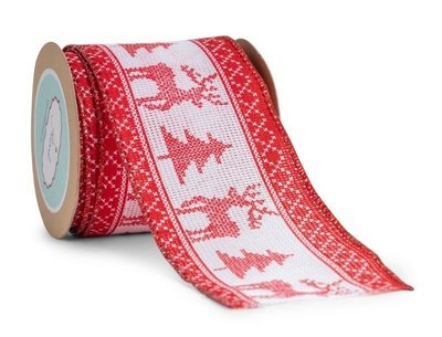 Cross Stitch- Red Reindeer