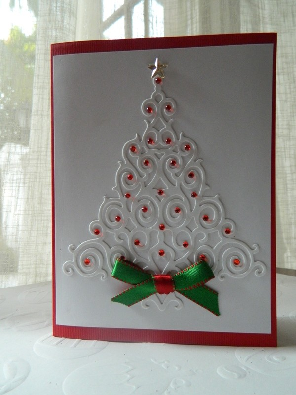 Christmas Tree- Red Stones